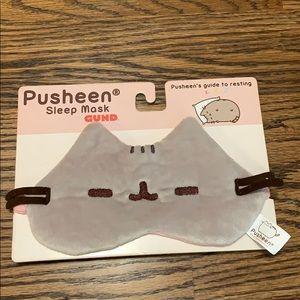 NEW Pusheen sleep mask cat soft